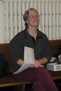 Elizabeth Alexander visits TCWC rehearsal
