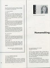 Seventeen-at-School, February 1958: Page 12 (epicharmus) Tags: women teenagers teen clipart 1958 seventeen homeeconomics homemaking homeec seventeenmagazine teengirls seventeeninschoolmagazine
