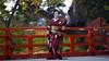 Iwai-mai 祝舞 #2 (Onihide) Tags: kyoto maiko mapleleaf kitanotenmangu kamishichiken momijien naokazu ichiteru katsuru onihide iwaimai