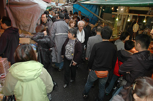 Tsukiji Saturday Crowd