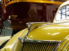 NRM 2009 20 (FrMark) Tags: york uk england car yellow design thirties automobile britain engine style railway moderne gb british locomotive chrysler deco nrm nationalrailwaymuseum streamline coronation lms airflow lmsr duchessofhamilton nrmobjectnumber{19767000}