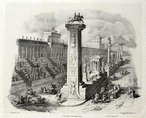 009-Letra I-Alfabeto pittorico- Antonio Basoli 1839-© Accademia di Belle Arti di Bologna