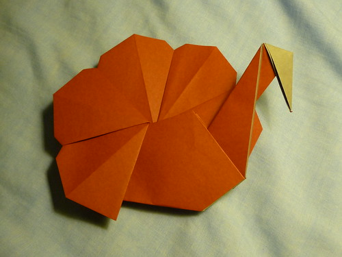 Origami Weekly: Thanksgiving Turkey, by Andrew Hudson