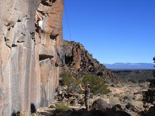 Nice climbing weather