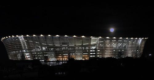 Night time Cape Town Stadium