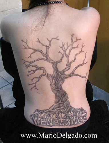 female back tattoo. female back tattoo,