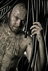 Ira 2 (Zombola Photography) Tags: bear gay pipes anger dirty homoerotic oil homosexual frustration eroticism