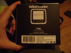 Boite du WikiReader