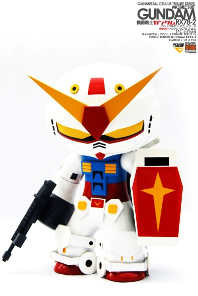 Ganmetall Celsius Gundam Tribute