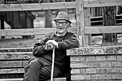 (stefano ciccocioppo) Tags: portrait blackandwhite bw italy white black d50 nikon italia ben oldman stolen bianco ritratto nero biancoenero abruzzo anziano rubato keypaz