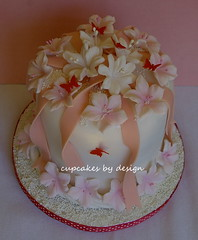 Mini Birthday cake (Dot Klerck....) Tags: pink flowers wedding roses southafrica cupcakes capetown dot cupcakesbydesign