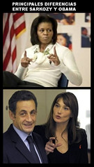 main differences between obama and sarkozy