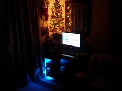Christmas season (JonJCP) Tags: christmas computer