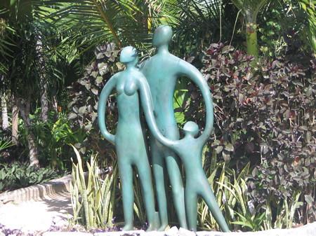 Symbolism is wonderful in this sculpture