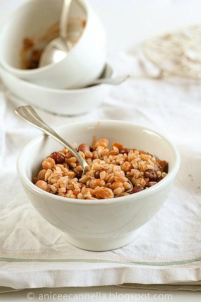 Zuppa di legumi misti, direttamente dalla dispensa