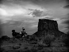 Espectadora de lujo (d@vo) Tags: west monument valley far