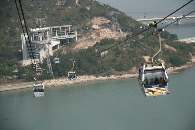 Hongkong Day1: At Ngong Ping Cable Car