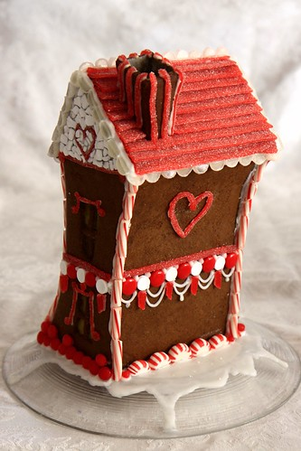 valentine gingerbread