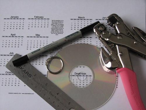 CD Calendar Blank 001