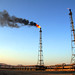 China - Oil Refinery Stack Flare