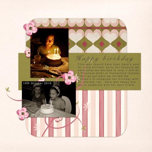 Sara's-birthday