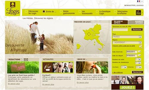 Les Logis mettent en ligne un nouveau site web