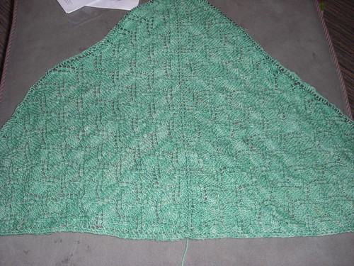 Shawl - all but the edging chart