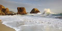 Passing Storm - McClures Beach, Calif