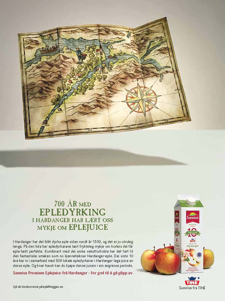 700 år med epledyrking