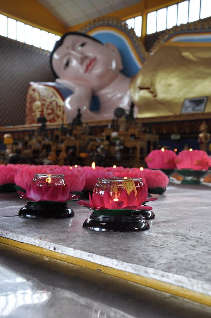 Wat Chayamangkalaram Thai temple 臥佛寺 ...