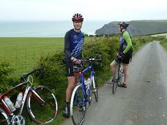 Mike and John (MikeEye) Tags: charity bike emerson ride landsend cycle bikeride johnogroats cycleride lejog