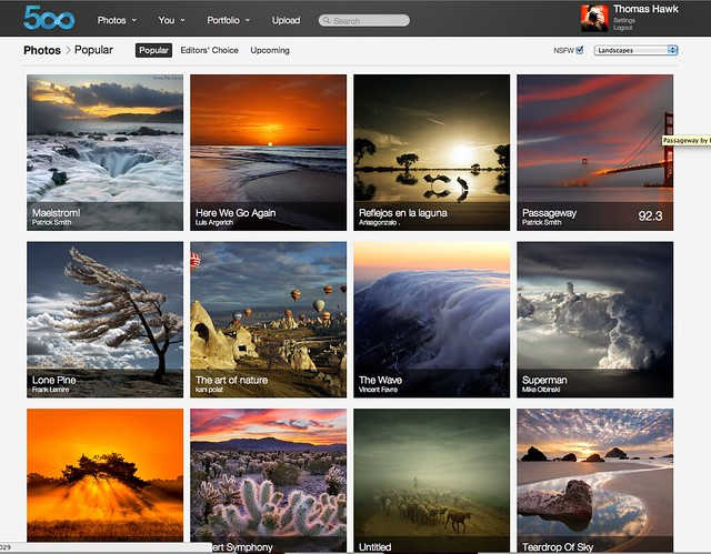 How to Browse 500px like a Pro 2