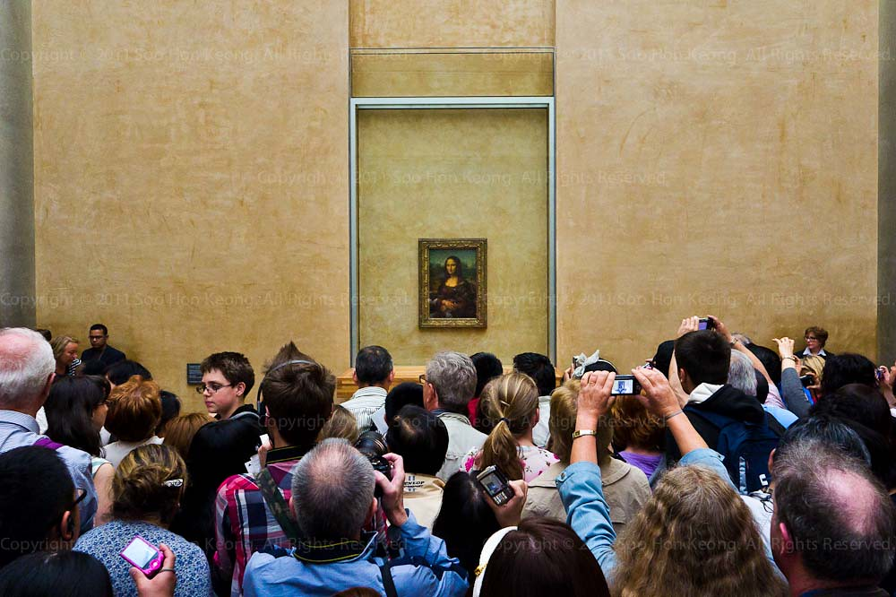 Mona Lisa @ Lourve, Paris, France