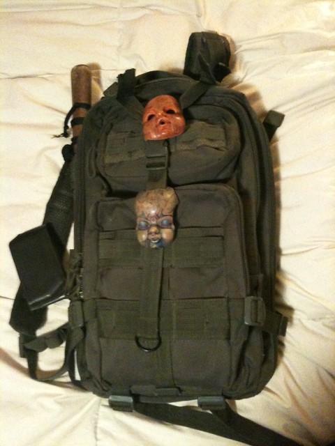 Back pack of doom