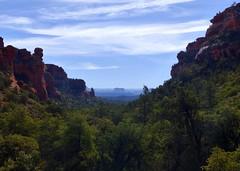Fay  Canyon (DanLynnG) Tags: cathedral rock fay canyon trail sedona overlook arizona