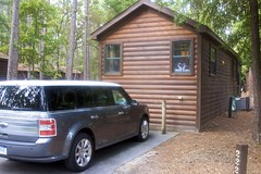 Our Cabin & Ford Flex