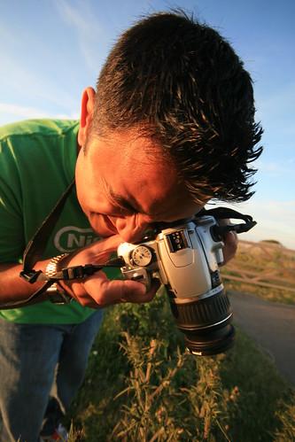 Wide angle macro shot