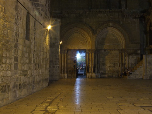 Holy Sepulchre at Night