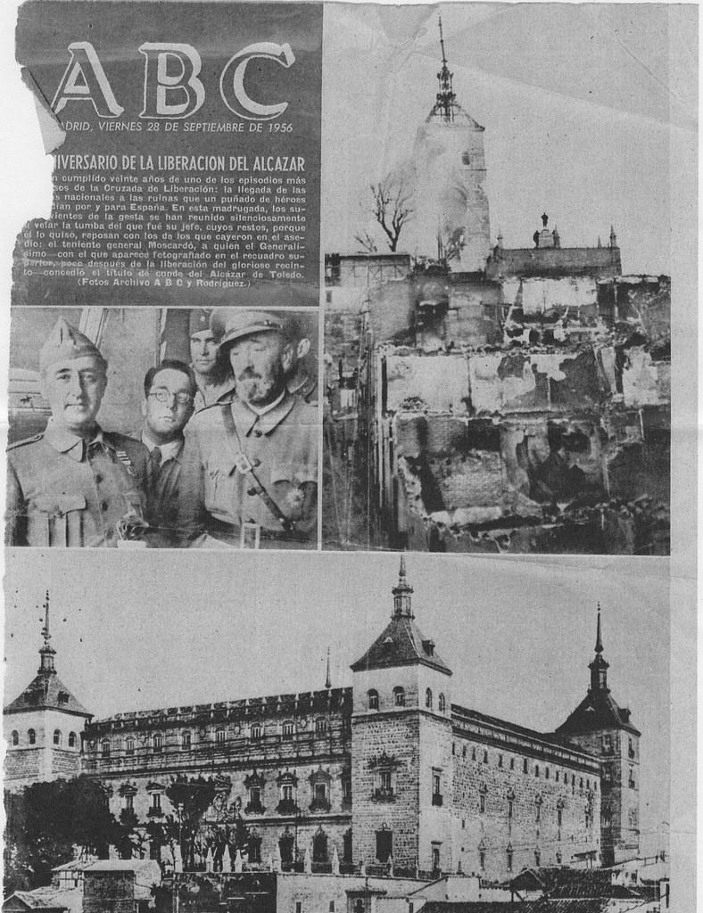Portada del ABC del 29-9-1956
