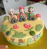 BCK Super Mario Bros. Birhtday Cake