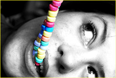 365/262 i like CANDY!! (simply~kari) Tags: colors face mouth nose eyes candy teeth lips tired grumpy meh crabby crappy meanie grouchy selectivecolor 365days ilikecandy 365nov08 agespotsdamnit
