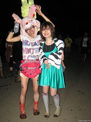 Smiling Japanese Girls
