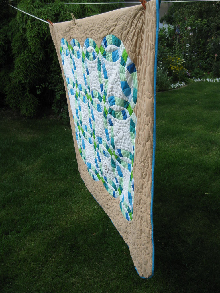 Sam's wedding quilt