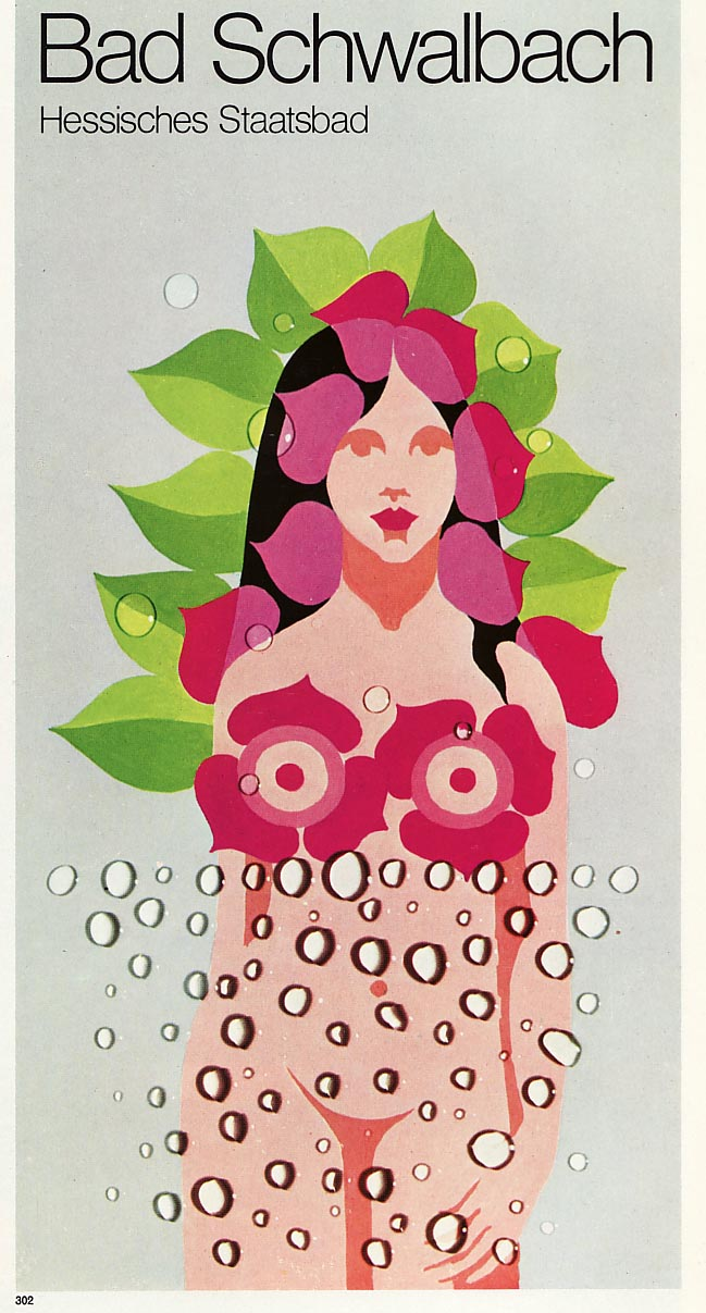 Graphis Annual 76/77: Flower Girl