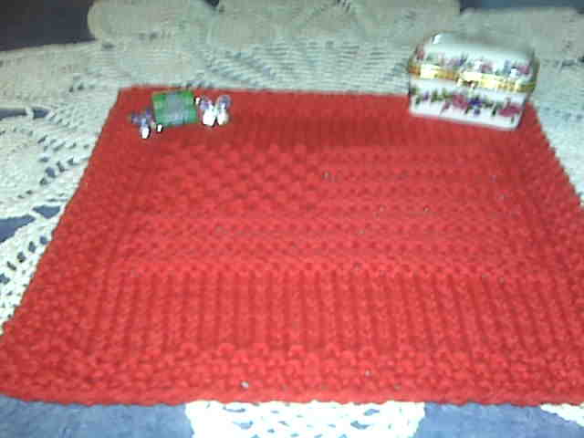 June Dishcloth