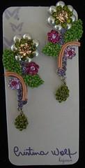 Brinco - VENDIDO (Cristina Wolf Bijoux) Tags: wolf cristina artesanato bijoux swarovski brinco colar pulseira earing bijouteria