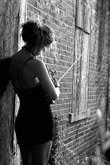 the violinist .7 (stephanie marie sarah) Tags: music black classic abandoned me girl dark myself crazy dangerous pumps highheels dress fierce evil eerie class creepy violin bitch orchestra classical psychopath feeling wrath violinist creep classy wedges orchestral psychiatriccenter i dealwithme