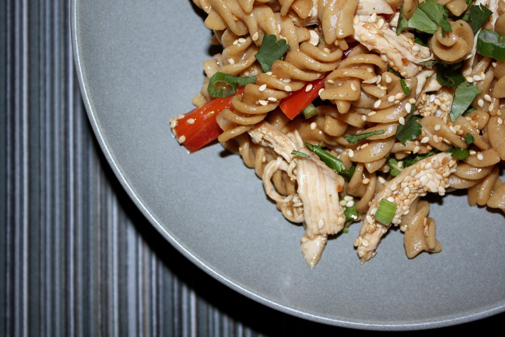 Sesame Chicken Pasta