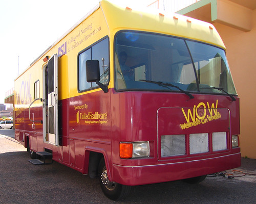 The WOW Mobile bringing care and kindness to CFA!