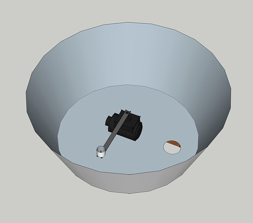 cauldron top view